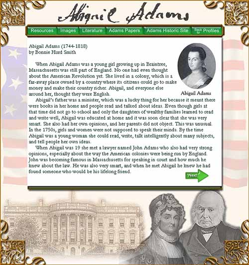 Woman of the Month: Abigail Adams image